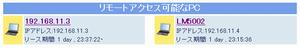 一覧のHTML